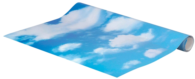 4-foot Sky Backdrop Lemax Village