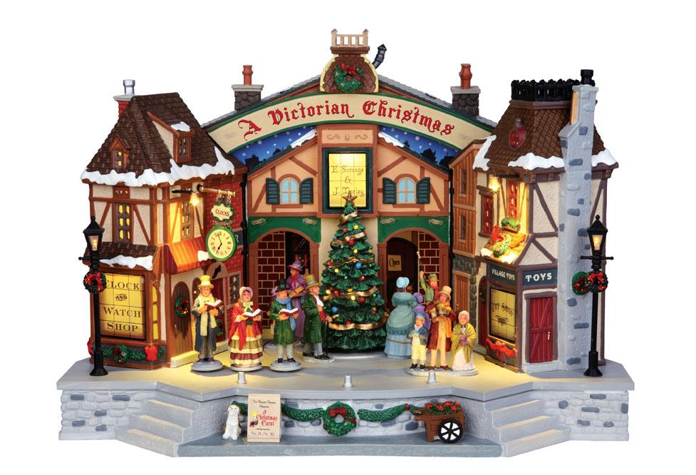 A Christmas Carol Play Lemax Village