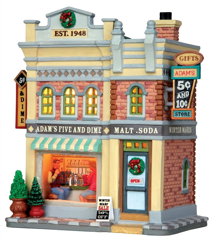 Adam's Five & Dime Store Lemax Village