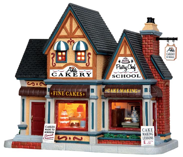 Ana's Cakery Lemax Village