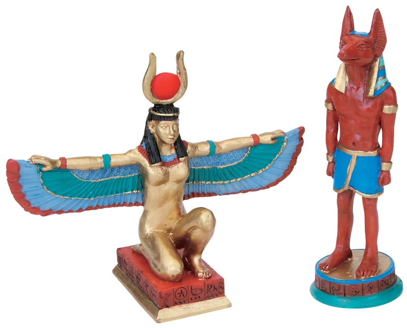 Ancient Gods, Set Of 2 Lemax Village