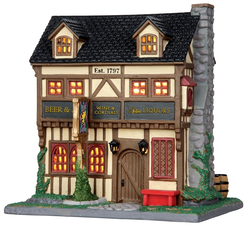 Argyle Griffin Pub Lemax Village