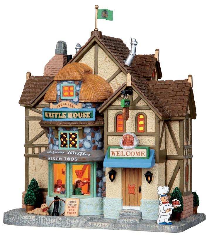 Belgian Waffle House Lemax Village