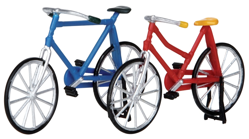 Bicycles, Set Of 2 (self-stand) Lemax Village
