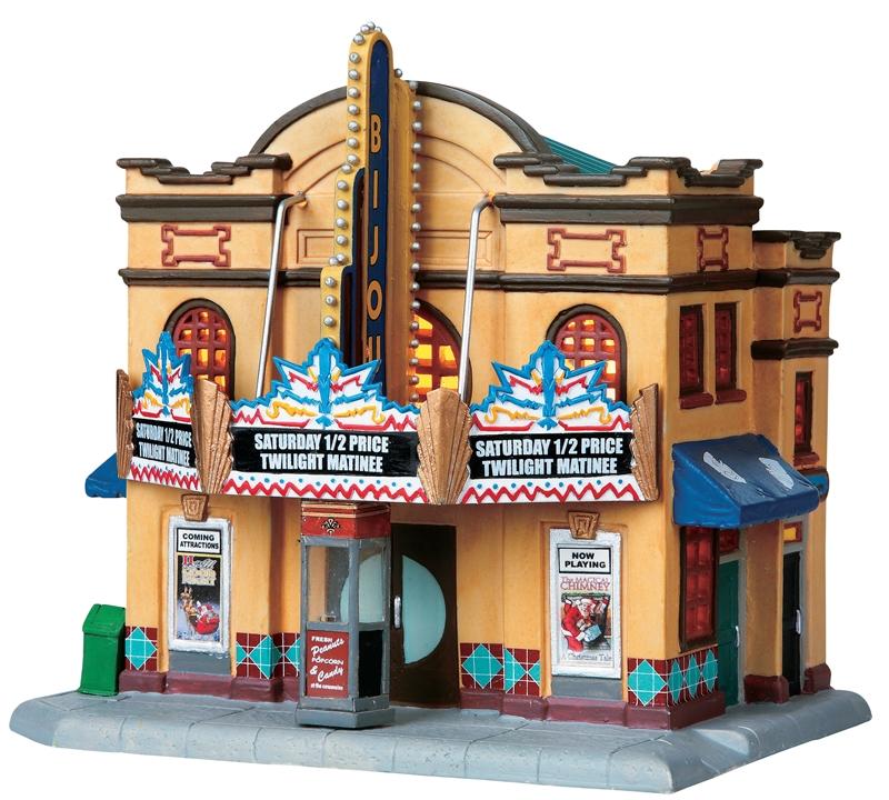 Bijou Theater Lemax Village