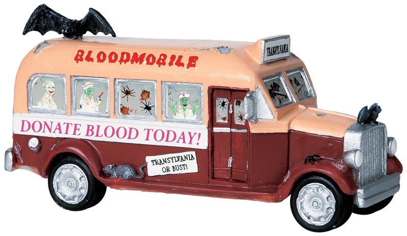 Bloodmobile Lemax Village