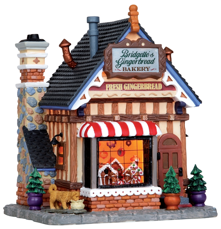 Bridgette's Gingerbread Bakery Lemax Village