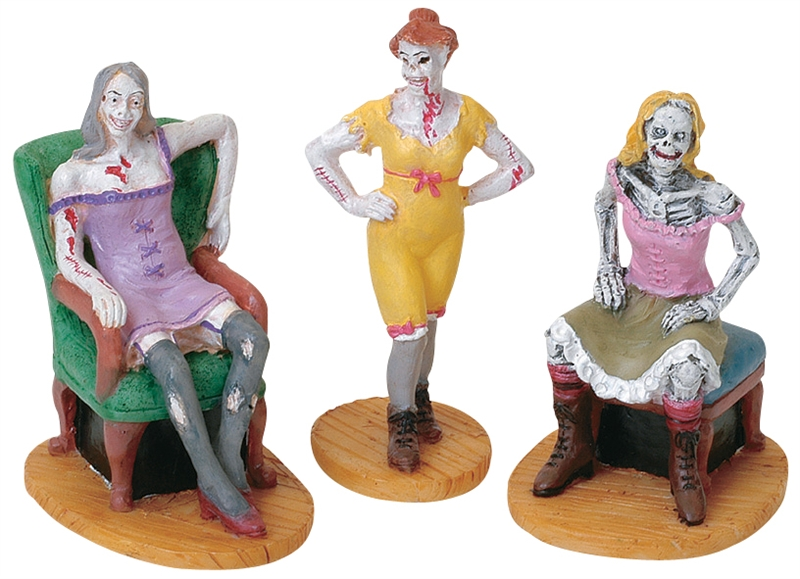 Brothel Women, Set Of 3 Lemax Village