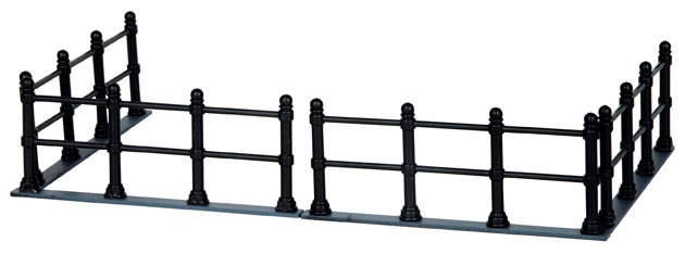 Canal Fence  Set Of 4 Lemax Village