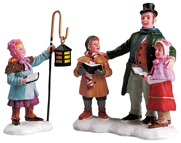 Carolers Quartet, Set Of 2 Lemax Village