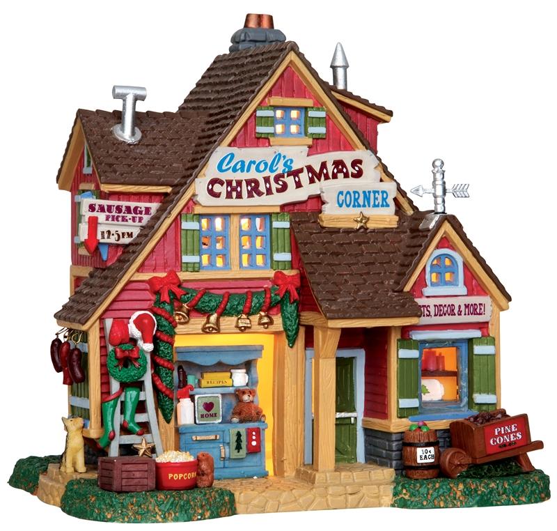 Carol's Christmas Corner Lemax Village