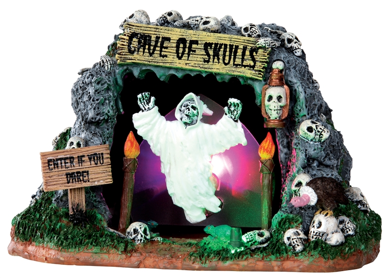 Cave Of Skulls Lemax Village