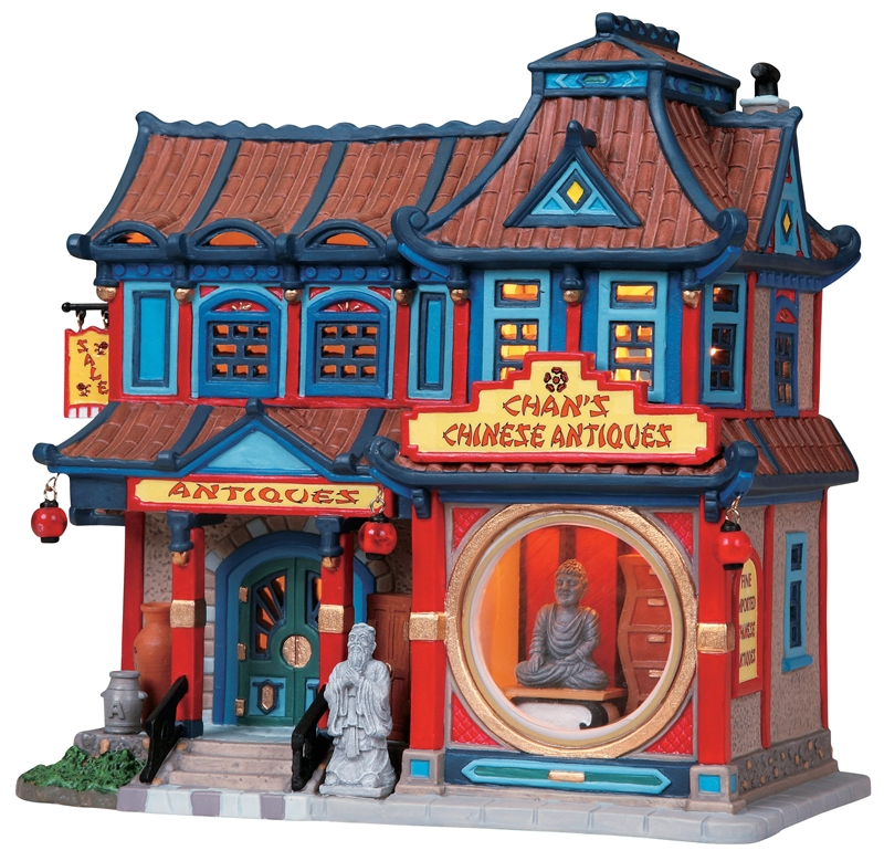 Chan's Chinese Antiques Lemax Village