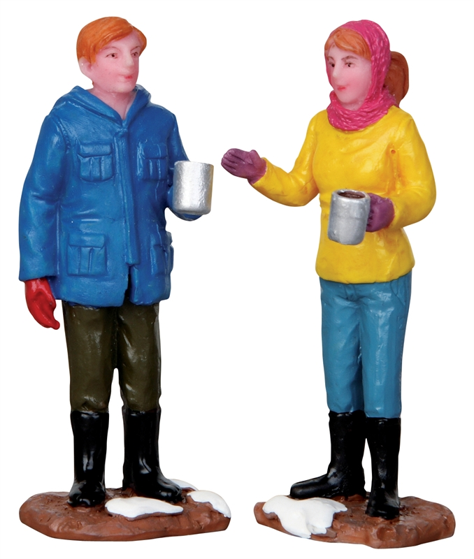 Chit-chat Time, Set Of 2 Lemax Village