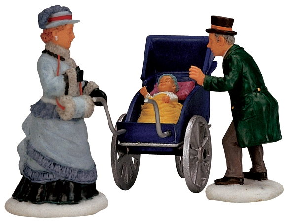 Christmas Baby,set Of 3 Lemax Village