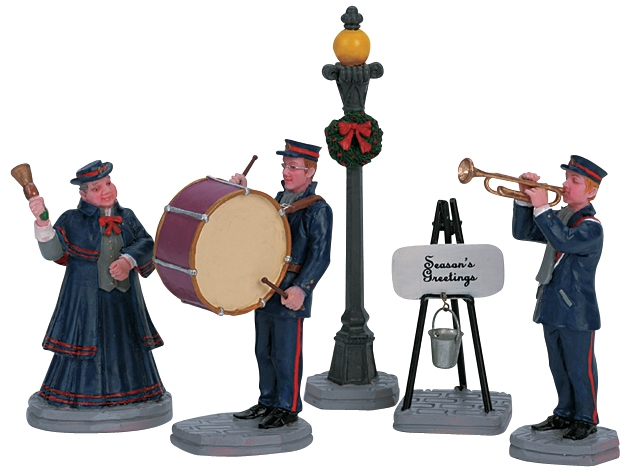 Christmas Band, Set Of 5 Lemax Village