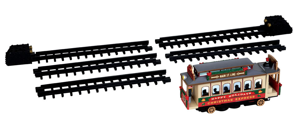 Christmas Cable Car  Set Of 6 Lemax Village