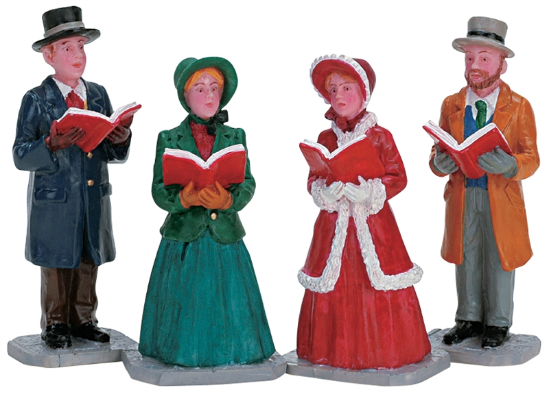 Christmas Harmony, Set Of 4 Lemax Village