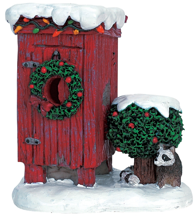 Christmas Outhouse Lemax Village