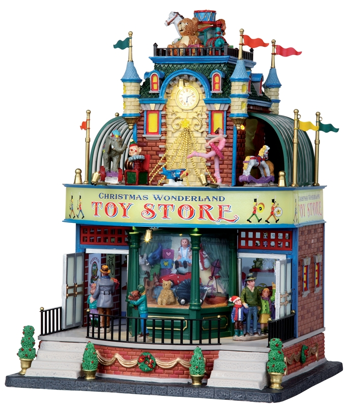 Christmas Wonderland Toy Store Lemax Village