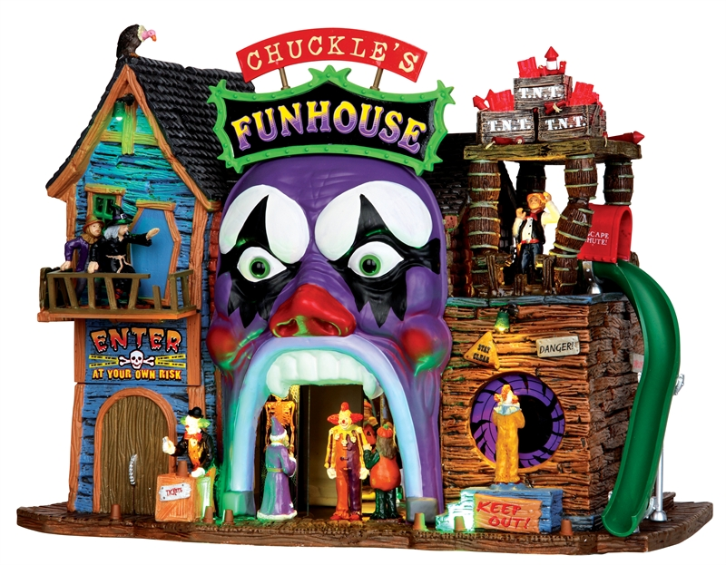 Chuckle's Funhouse Lemax Village
