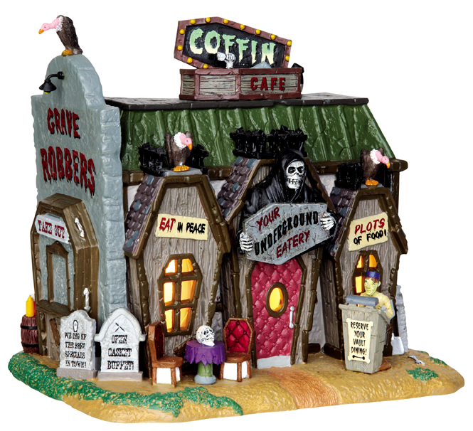 Coffin Cafe Lemax Village