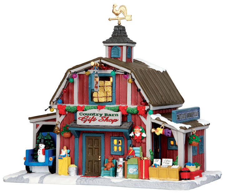 Country Barn Gift Shop Lemax Village