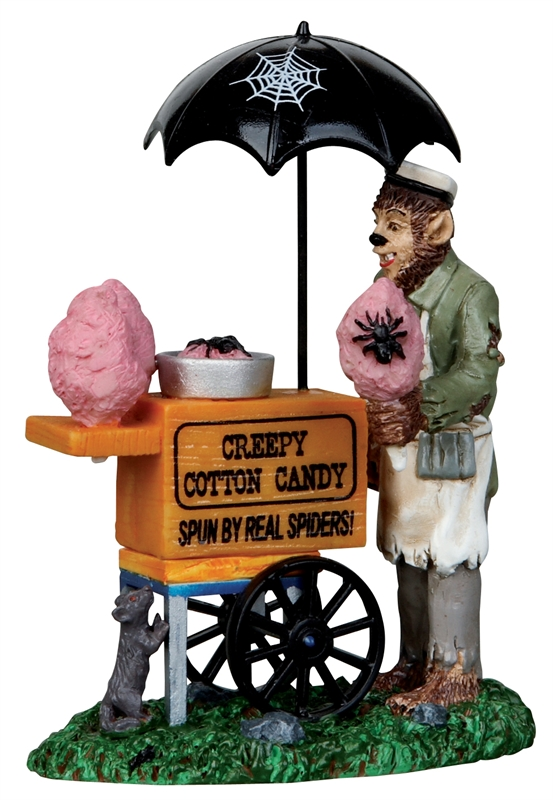 Creepy Cotton Candy Lemax Village
