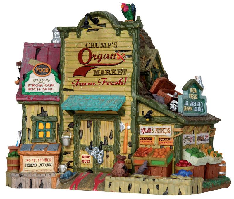 Crump's Organic Market Lemax Village