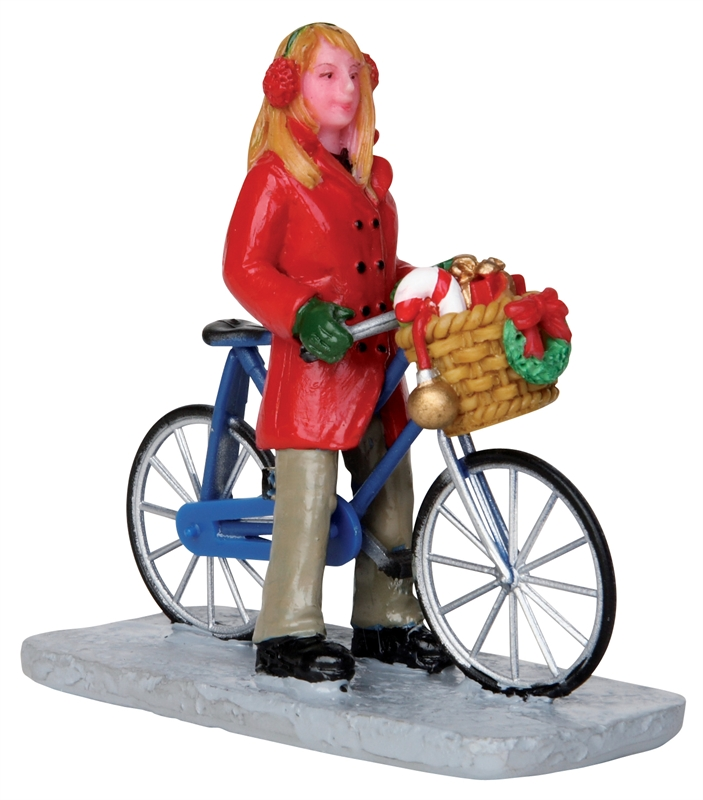 Cycling Shopping Trip Lemax Village