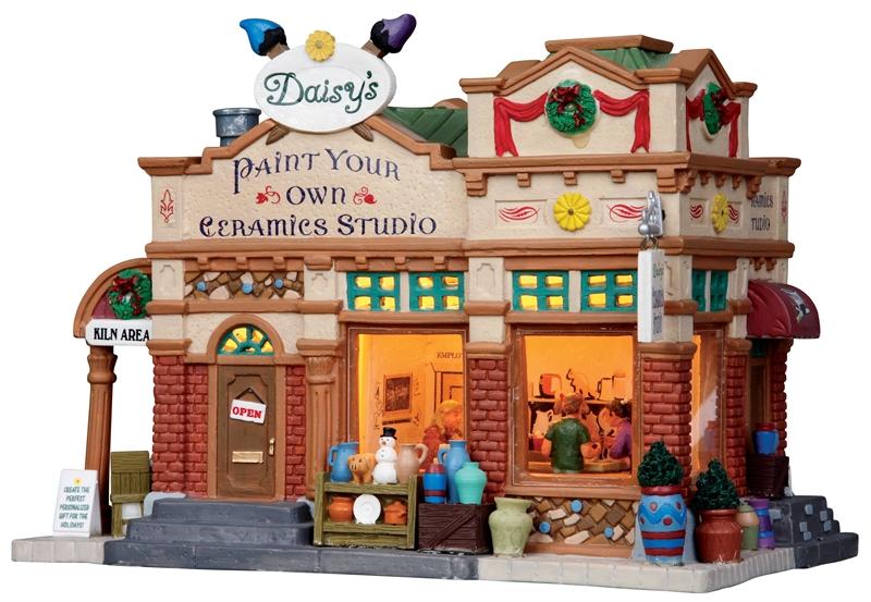 Daisy's Ceramics Studio Lemax Village