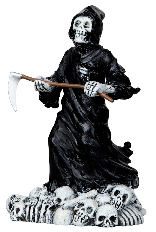 Deadly Grim Reaper Lemax Village