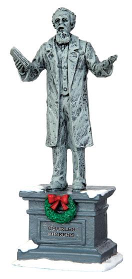 Dickens Statue Lemax Village