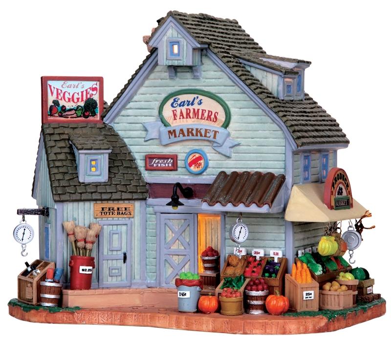 Earl's Farmers Market Lemax Village