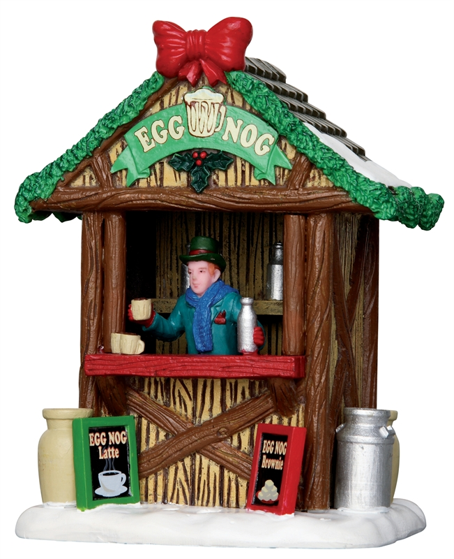 Egg Nog Stand Lemax Village