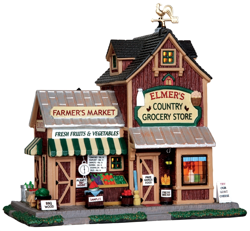 Elmer's Country Store Lemax Village