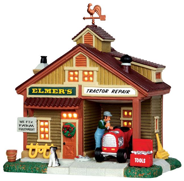 Elmer's Tractor Lemax Village