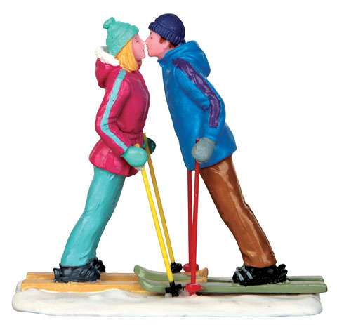 First Ski Date Lemax Village