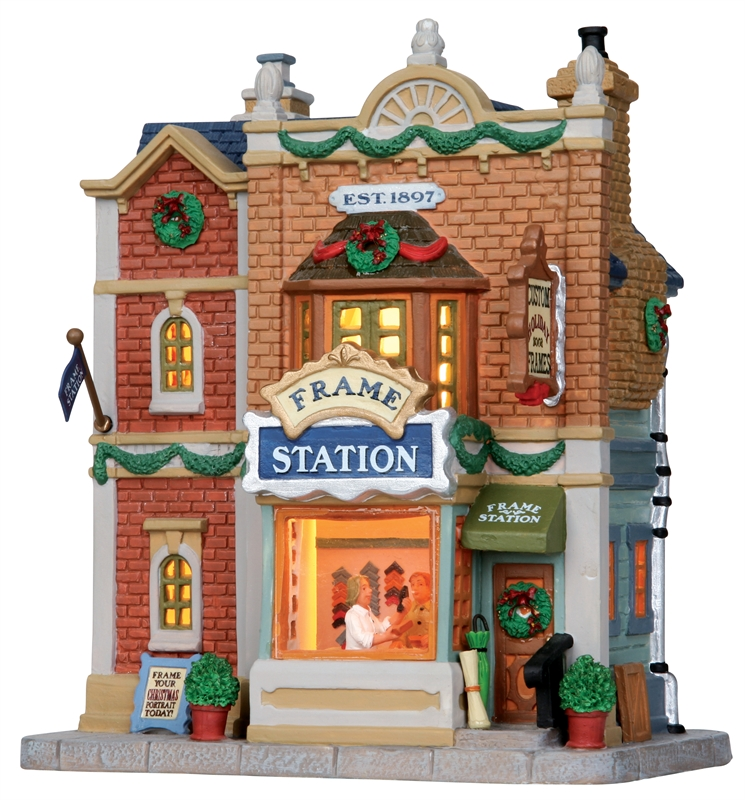 Frame Station Lemax Village