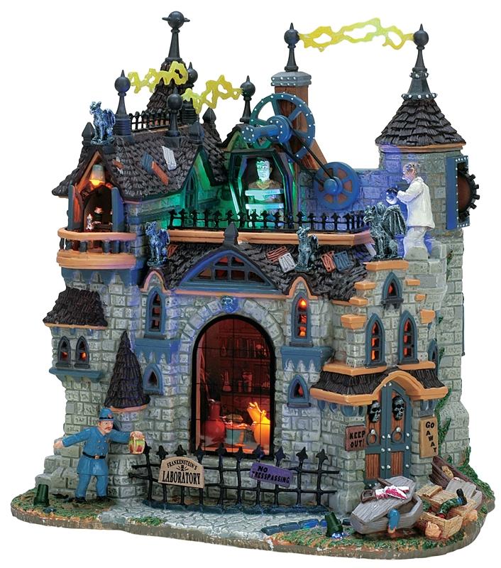 Frankenstein's Laboratory Lemax Village