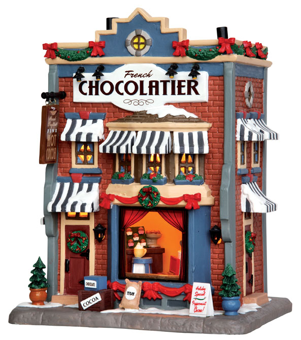 French Chocolatier Lemax Village