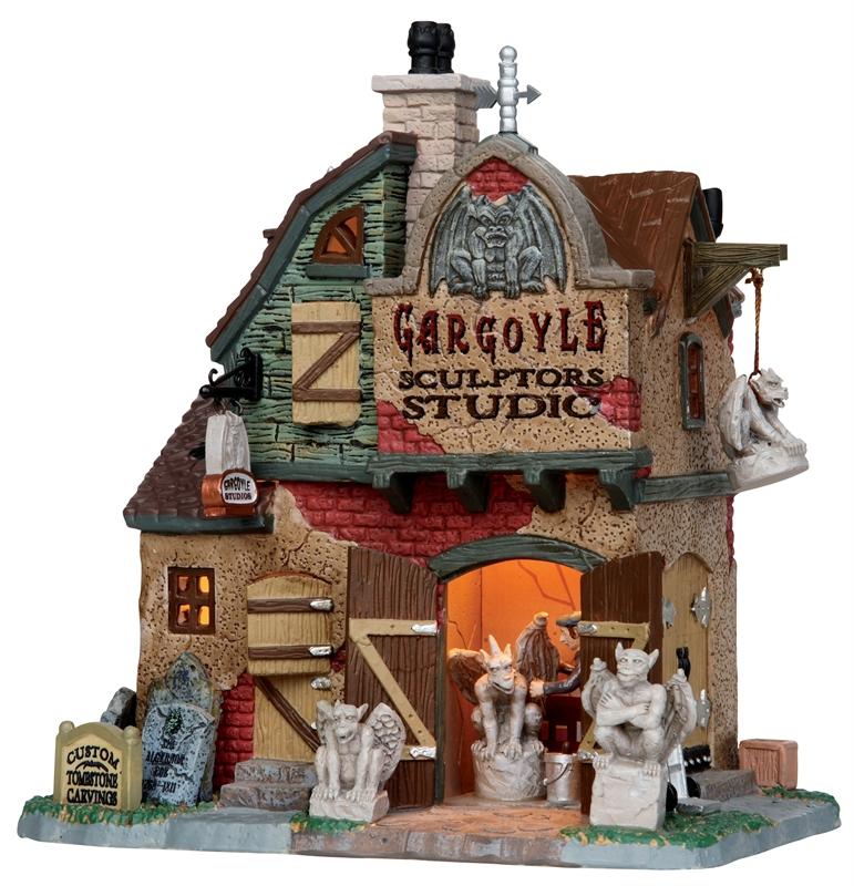Gargoyle Sculptor's Studio Lemax Village