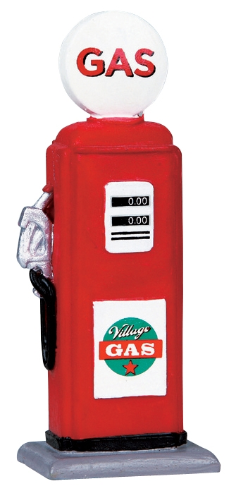 Gas Pump Lemax Village
