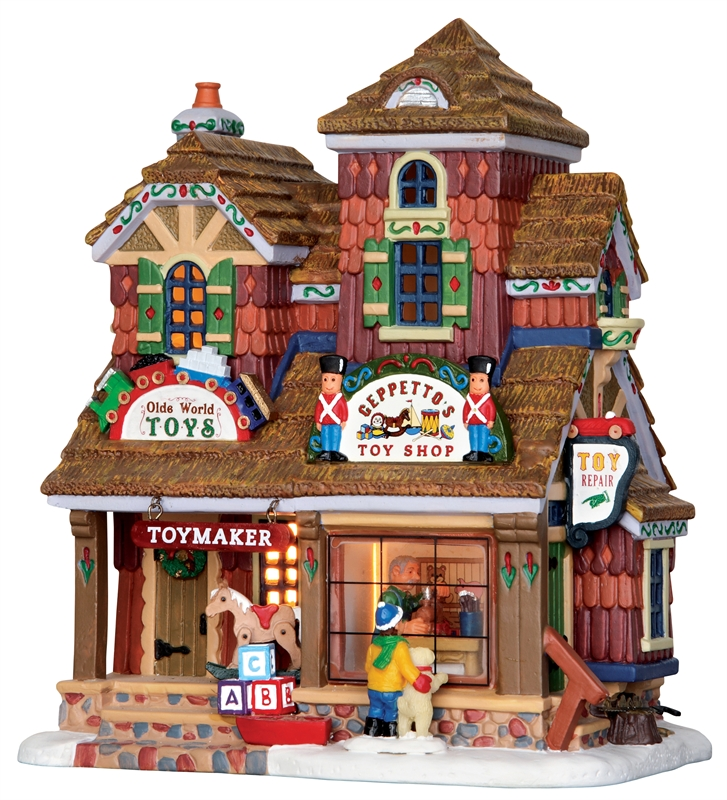 Geppetto's Toy Shop Lemax Village