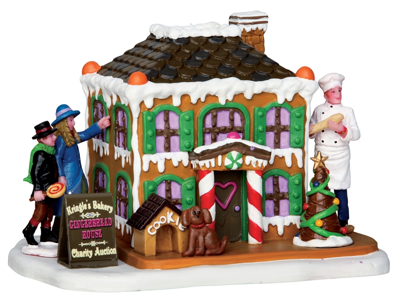 Gingerbread Marvel Lemax Village