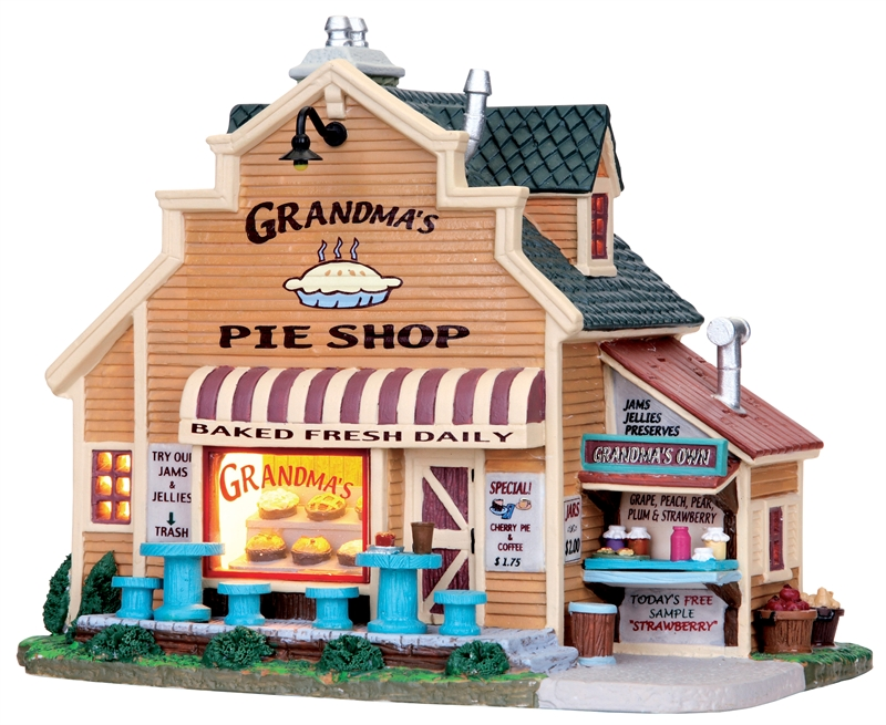 Grandma's Pie Shop Lemax Village