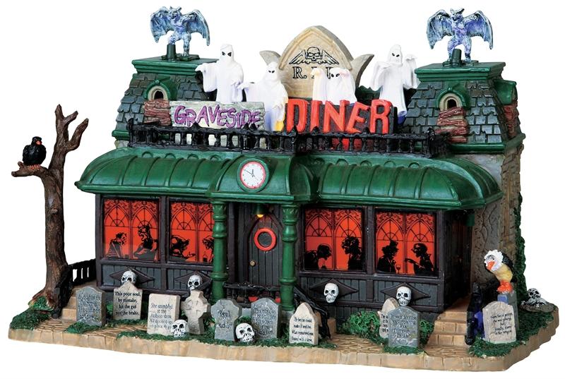 Graveside Diner Lemax Village