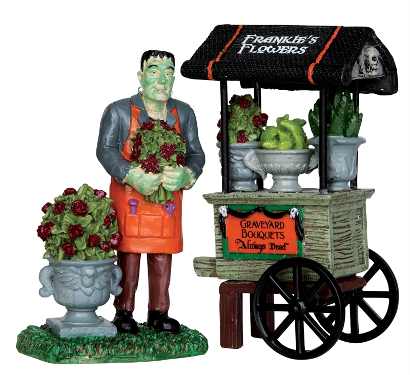 Graveyard Bouquets, Set Of 2 Lemax Village
