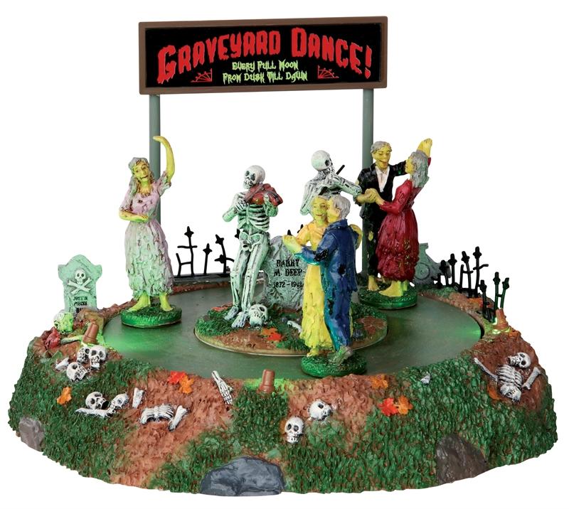 Graveyard Dance Lemax Village
