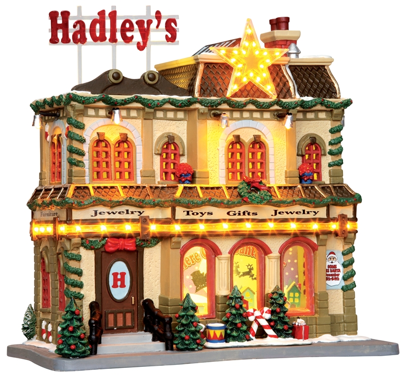 Hadley's Department Store Lemax Village